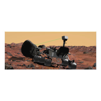 Mars Science Laboratory Photographic Print