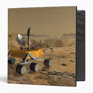 Mars Science Laboratory travels near a canyon Binder