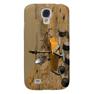 Mars Science Laboratory travels near a canyon Galaxy S4 Cover