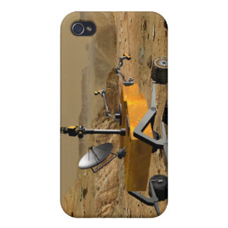 Mars Science Laboratory travels near a canyon iPhone 4/4S Case