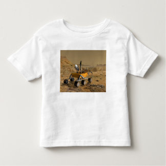 Mars Science Laboratory travels near a canyon Toddler T-shirt