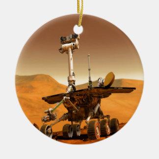 mars space travel Rover Robot Ceramic Ornament