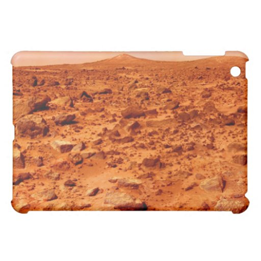 Mars surface iPad case
