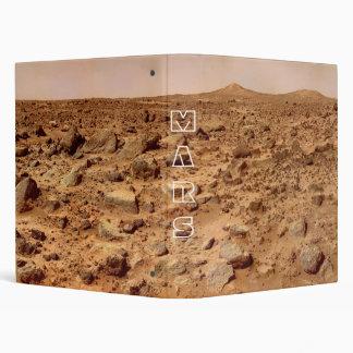 Mars Surface, Martian Landscape Binder