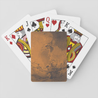 Mars Surface Planet Photo Playing Cards