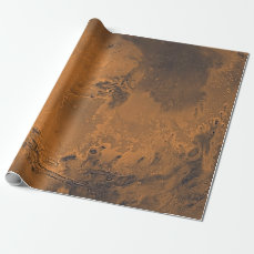 Mars Surface Planet Photo Wrapping Paper
