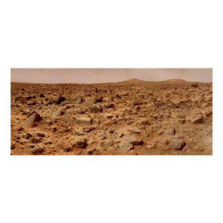 Mars Surface Poster