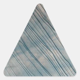 Mars Surface Texture Triangle Sticker