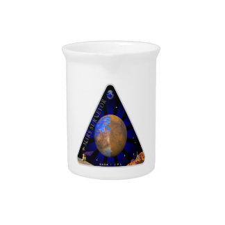 Mars Surveyor '98 Beverage Pitcher