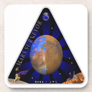 Mars Surveyor '98 Beverage Coaster