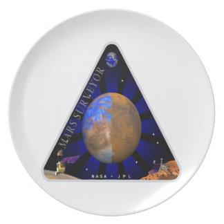 Mars Surveyor '98 Plate