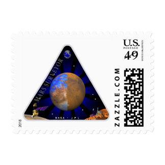 Mars Surveyor '98 Stamps