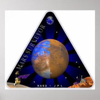 Mars Surveyor '98 Posters