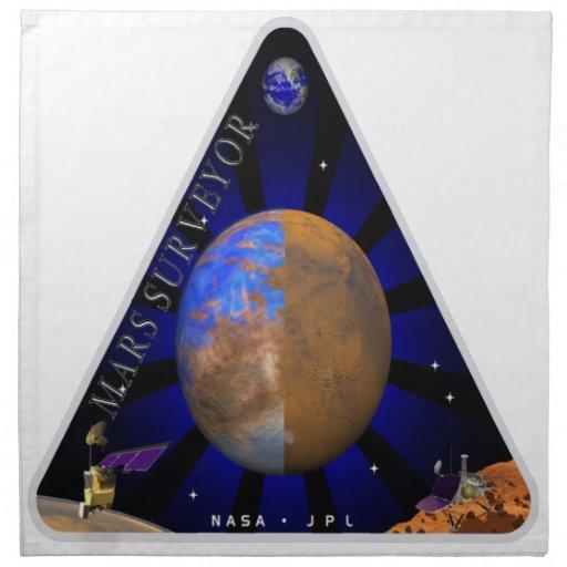 Mars Surveyor '98 Printed Napkins