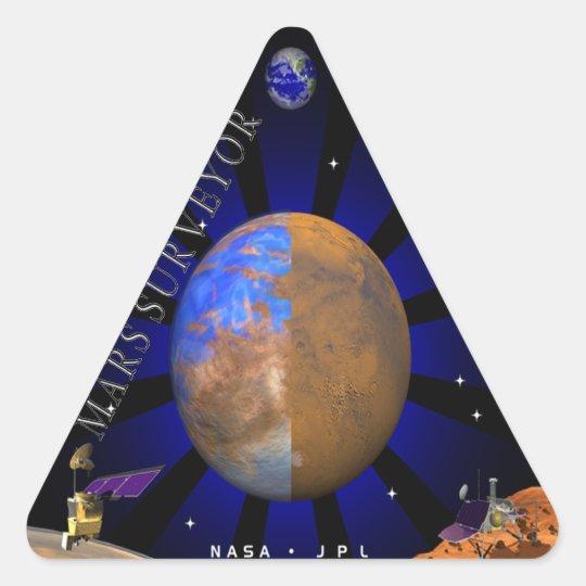 Mars Surveyor '98 Triangle Sticker