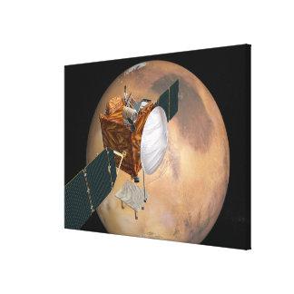 Mars Telecommunications Orbiter 2 Stretched Canvas Print
