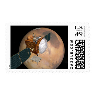 Mars Telecommunications Orbiter 2 Postage Stamp