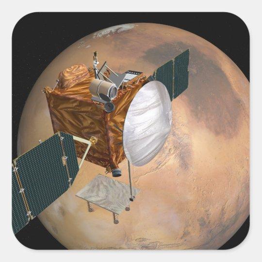 Mars Telecommunications Orbiter 2 Square Sticker