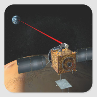 Mars Telecommunications Orbiter Square Sticker