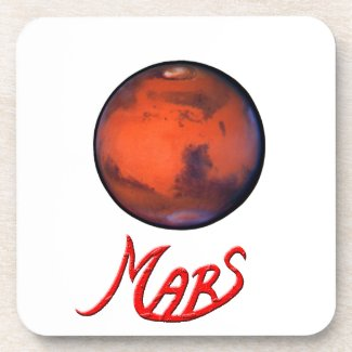 Mars --The Red Planet -- Coasters