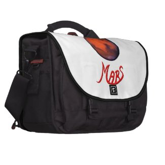 Mars -- The Red Planet -- Commuter Laptop Bag