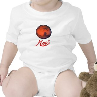 """Mars """"The Red Planet"""" Infant Creeper"""