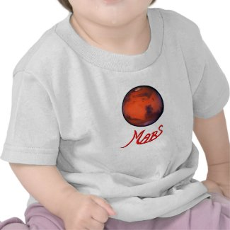"""Mars """"The Red Planet"""" Infant T-Shirt"""
