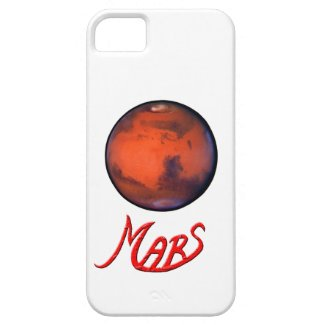 Mars - The Red Planet - iPhone 5 Case