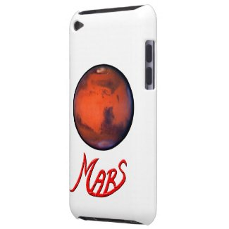 Mars - The Red Planet - iPod Touch Case