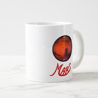 Mars - The Red Planet - Jumbo Mug (20oz.)