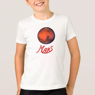 Mars -The Red Planet - Kid's T-Shirt