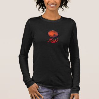 Mars - The Red Planet - Long Sleeve Ladies Jersey Long Sleeve T-Shirt