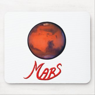 Mars - The Red Planet - Mousepad