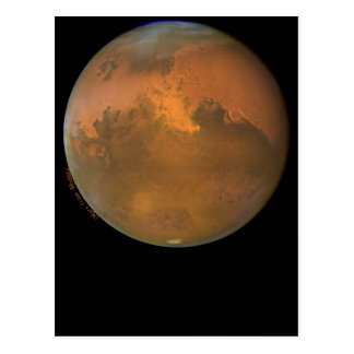 Mars the Red Planet on Cards and Postcards