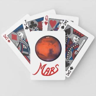 Mars- The Red Planet - Playing Cards