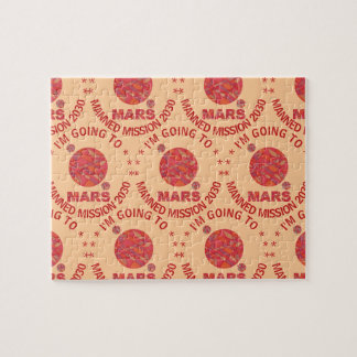 Mars The Red Planet Space Geek Solar System Fun Jigsaw Puzzle