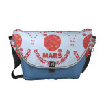 Mars The Red Planet Space Geek Solar System Fun Messenger Bag