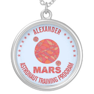 Mars The Red Planet Space Geek Solar System Fun Pendants