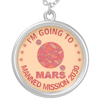 Mars The Red Planet Space Geek Solar System Fun Jewelry