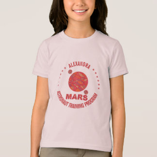 Mars The Red Planet Space Geek Solar System Fun T-Shirt
