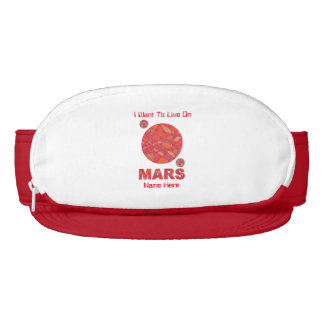 Mars The Red Planet Space Geek Solar System Fun Visor