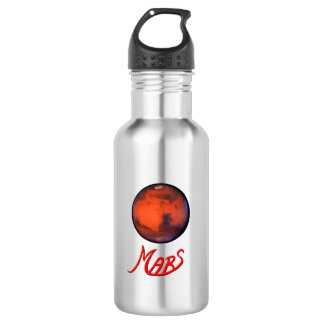 Mars - The Red Planet - Water Bottle