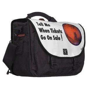 Mars - Tickets On Sale Commuter Laptop Bag