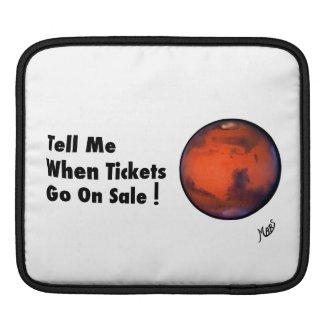 "MARS ""Tickets On Sale"" Electronics Case"