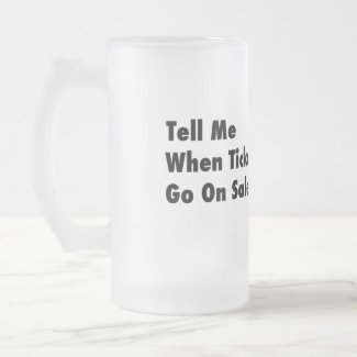 Mars - Tickets On Sale Frosted Mug