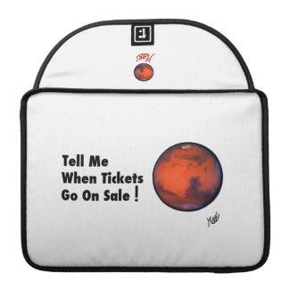 "MARS ""Tickets On Sale"" MacBook Pro Case"