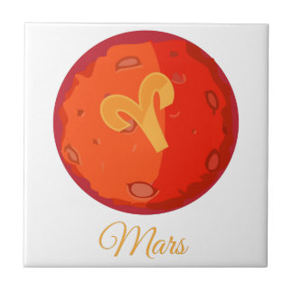 Mars Small Square Tile