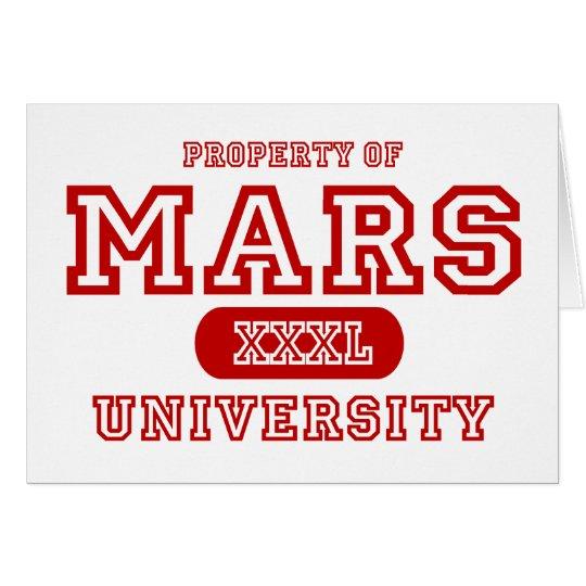 Mars University Card