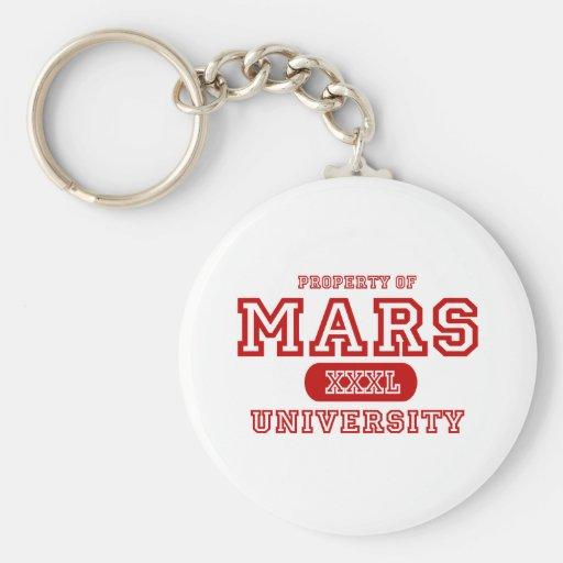 Mars University Keychain