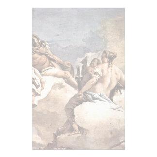 Mars, Venus And Cupid By Tiepolo Giovanni Domenic Stationery